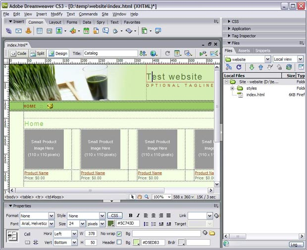 Dreamweaver library item if template for Dreamweaver app templates